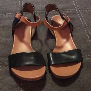 Black & Brown sandals